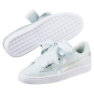puma Basket Heart Canvas sneaker